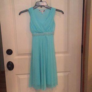 Von Maur, Girls blue dress